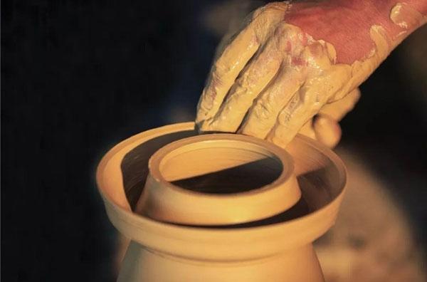 仿土陶制品工艺